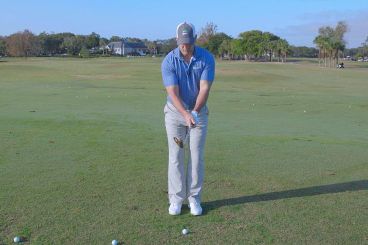 Chipping Downwind- Adjusting Grip Pressure