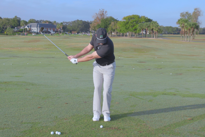 Higher Trajectory Chip Shots - Ball Position Guide