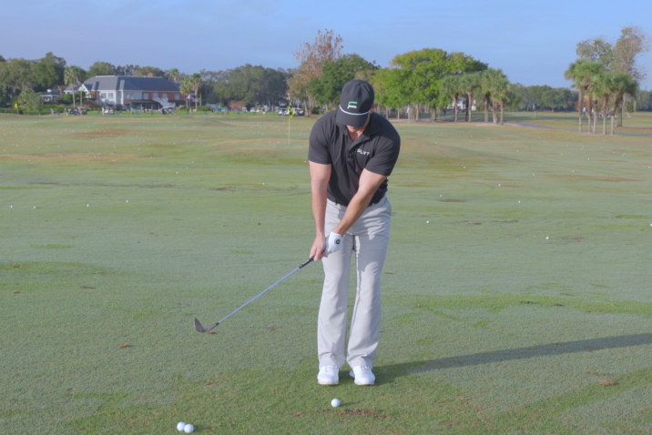 Lower Trajectory Chip Shots - Ball Position Guide